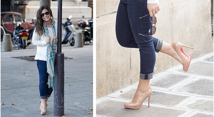 petite paris fashion blogger