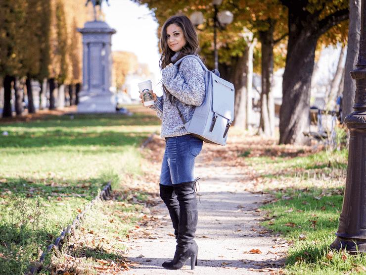 fall backpack fashion diane coletta