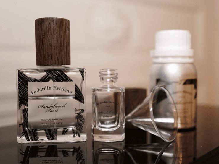 Perfume in paris shopping
