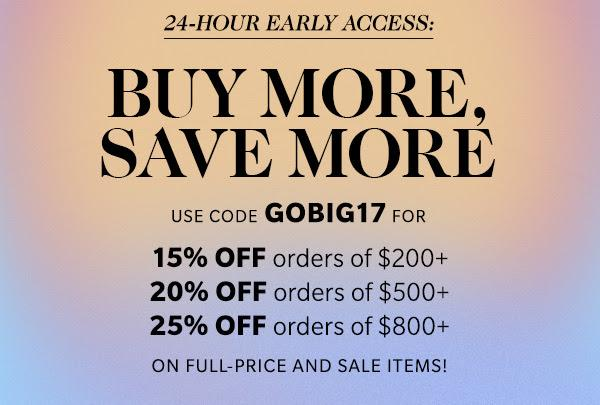 Shopbop sale with discount code for the shopbop sale
