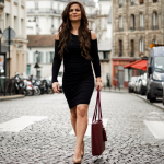 VVA Handbag review Velvet dress