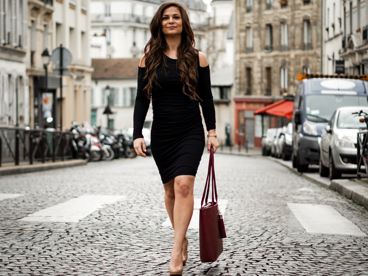 VVA Handbag review Velvet dress