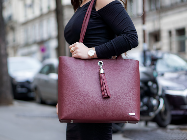 VVA work handbag paris fashion blogger