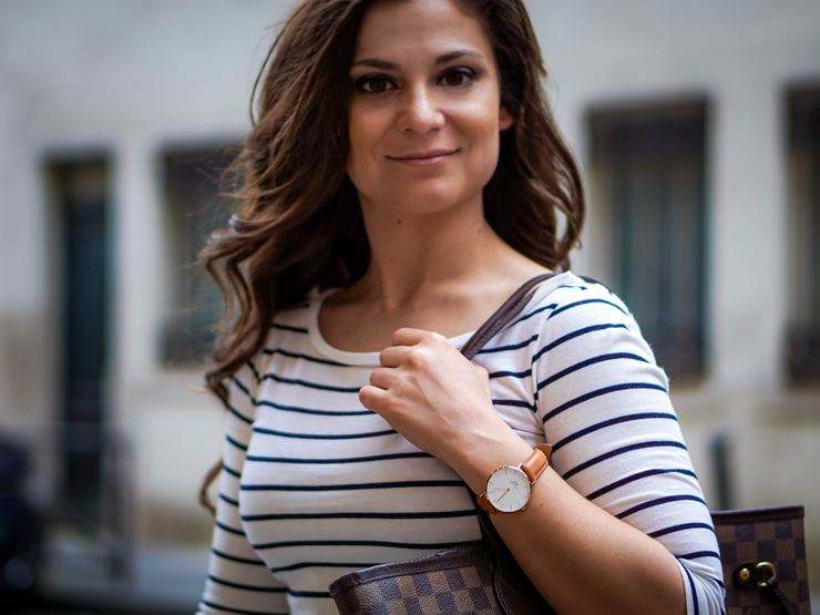 new petite classic watch by daniel wellington review