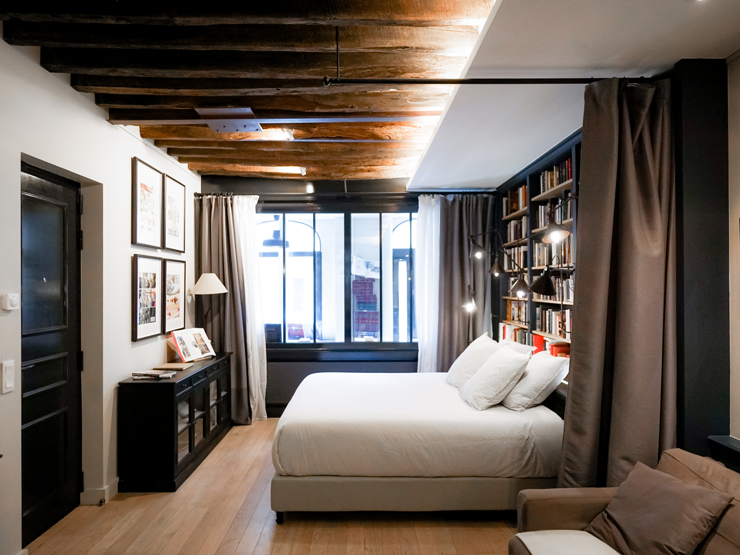 Paris Boutik Library hotel concept Paris