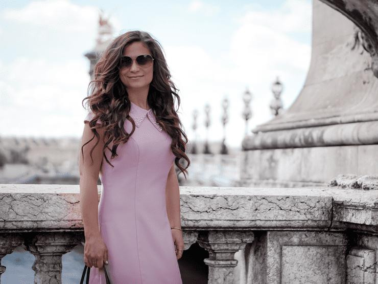 Dressarte pink dress summer