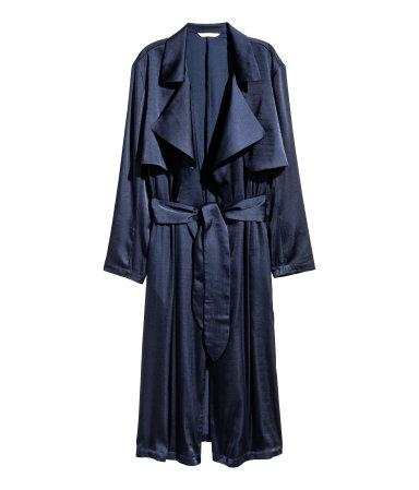 Satin Trenchcoat H&M