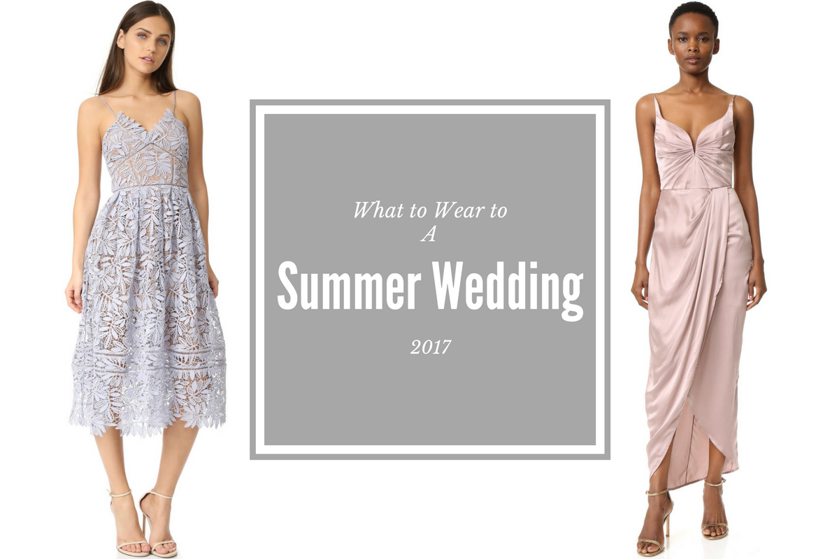 Best Dresses to Wear to a Summer 2017 Wedding! • Petite in Paris What To Wear To Wedding