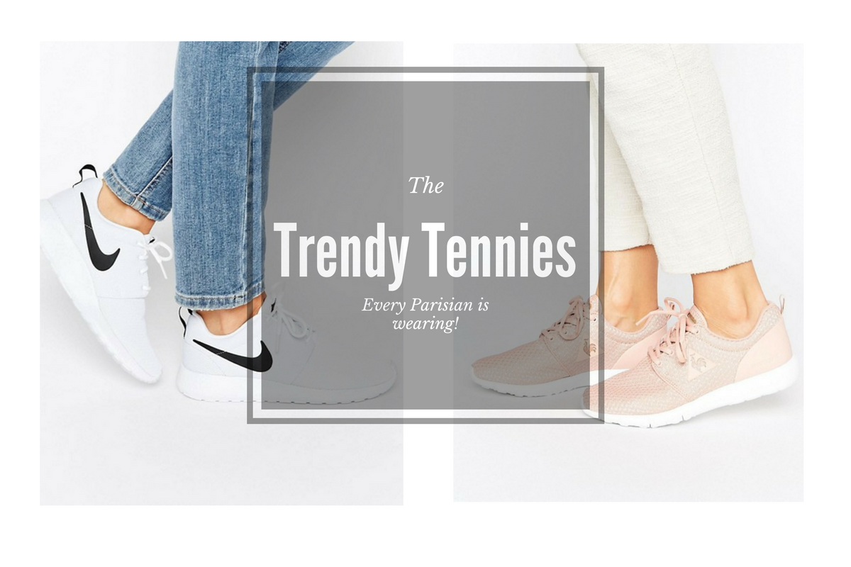 trendy tennis shoes every parisian is wearing