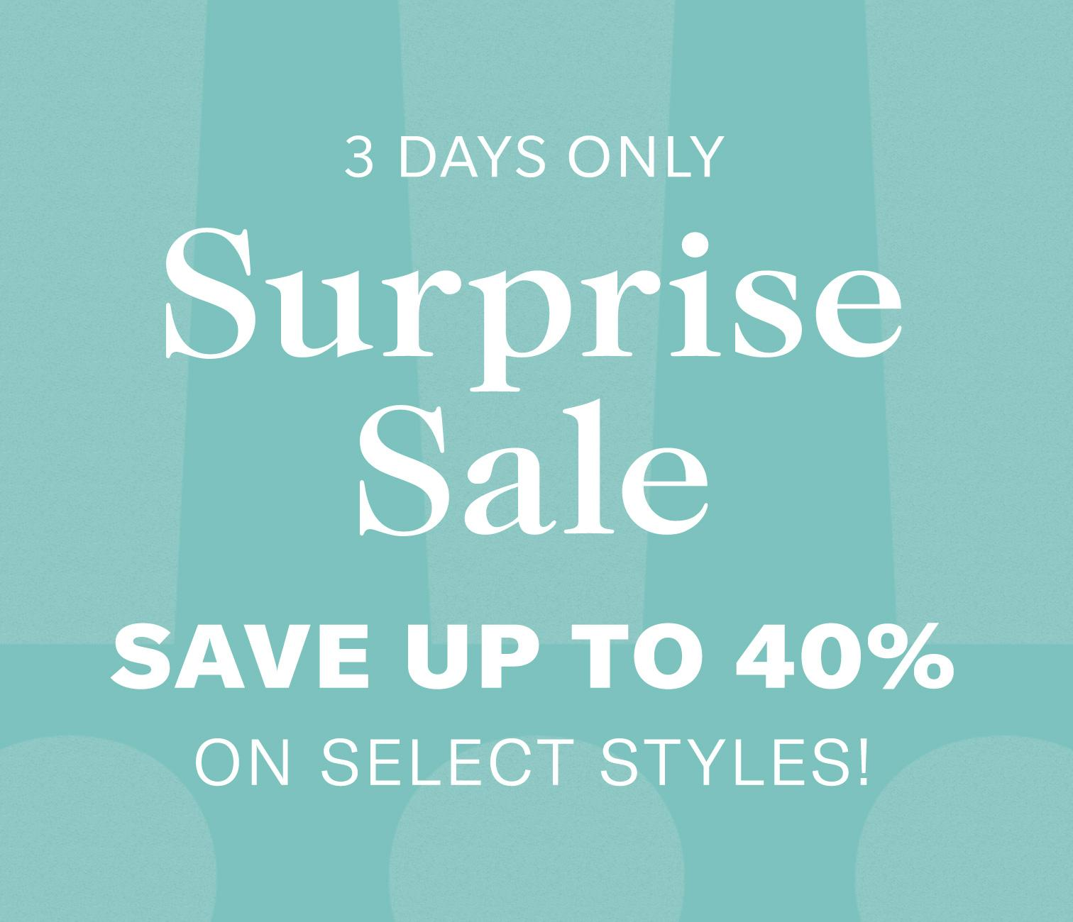 shopbop surprise sale save 40%