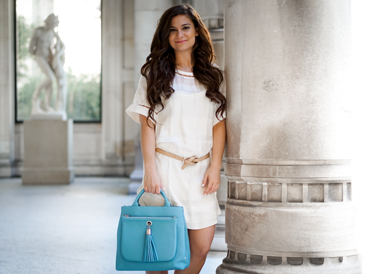 VVA handbag blue