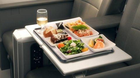 airplane food tricks