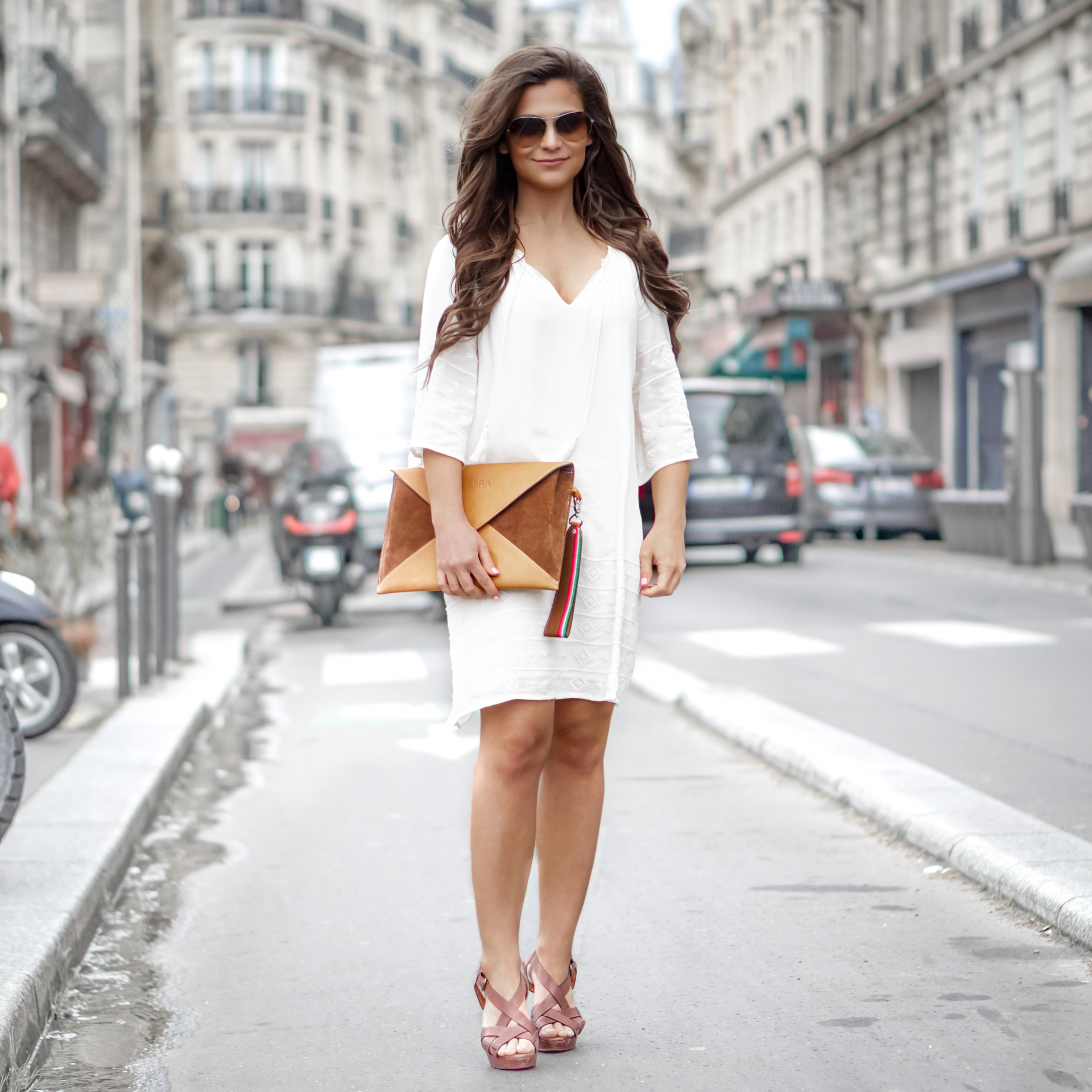 Keara bag envelope clutch petite in paris
