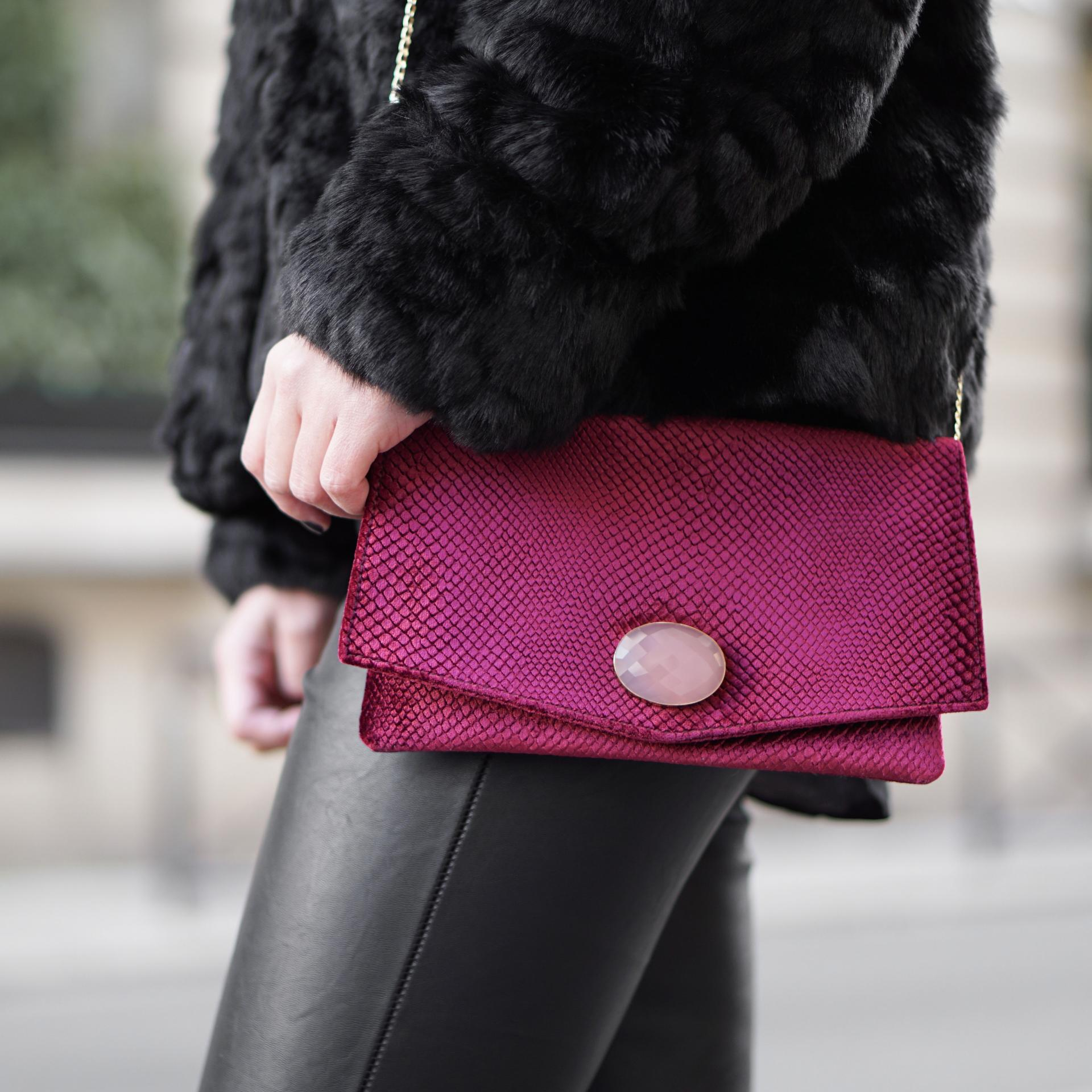 sestra paris clutch at galeries lafayette