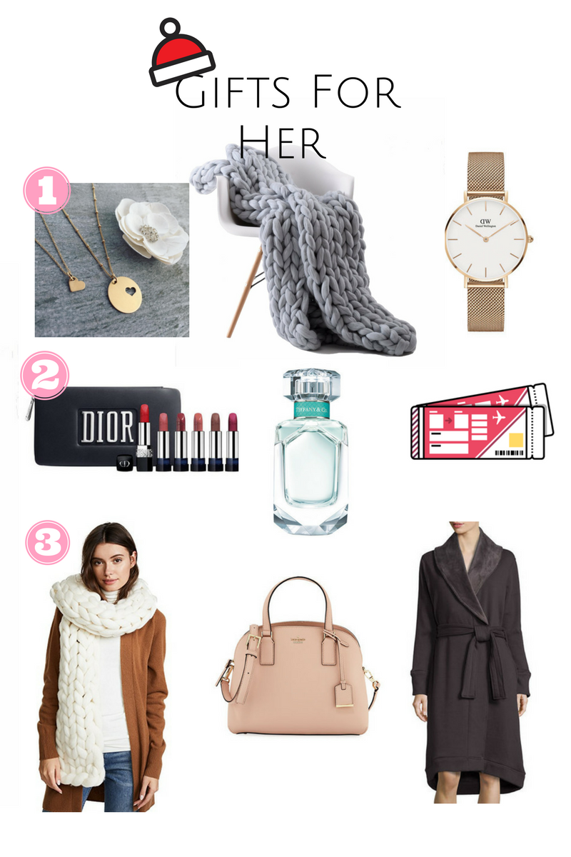 Last minute holiday gift guide for her