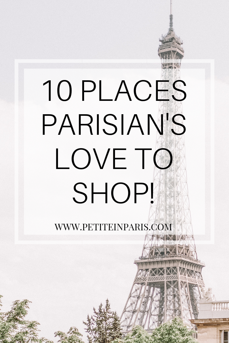 how to shop like a local in paris