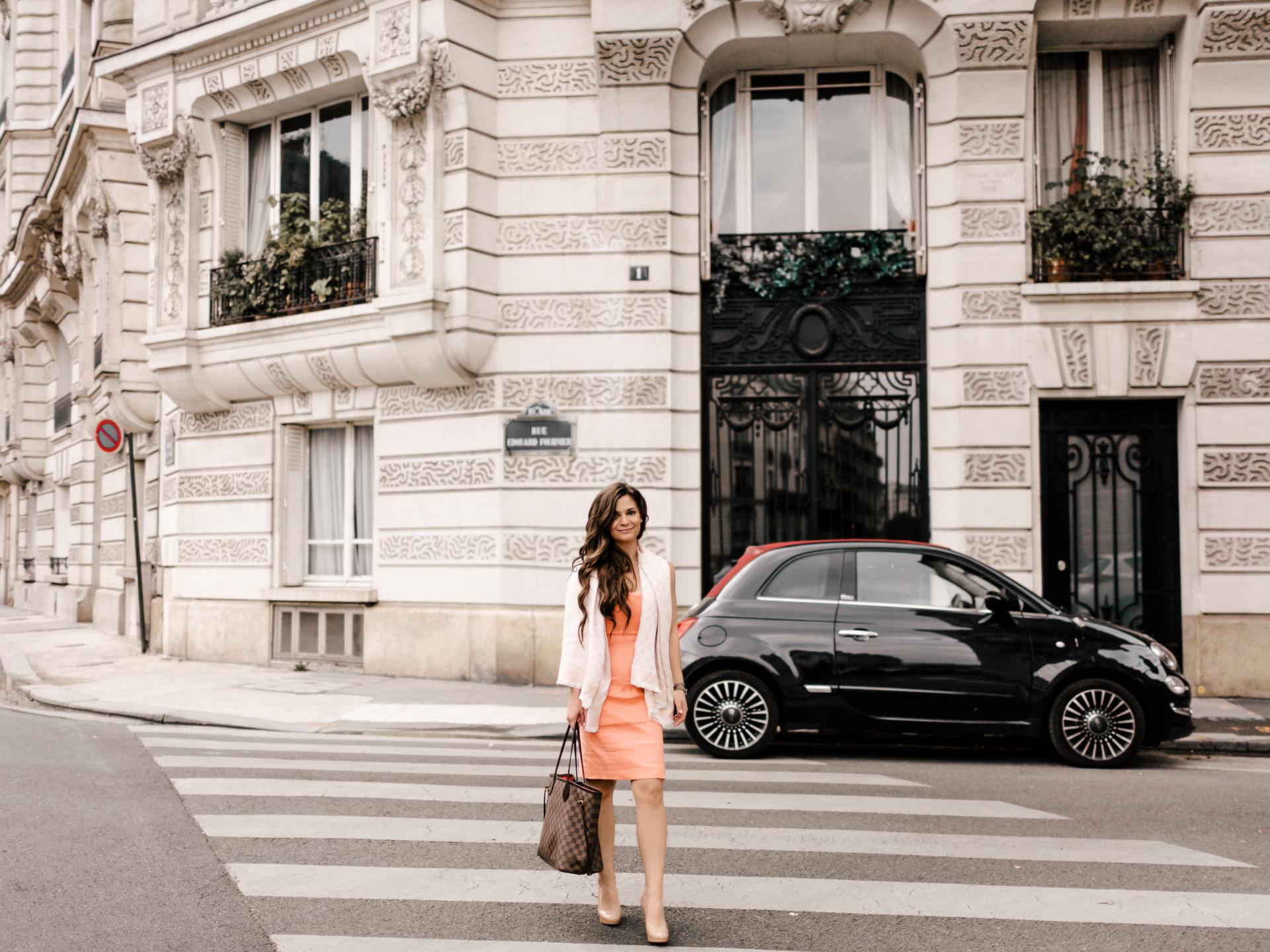 paris fashion blogger talks spring trends