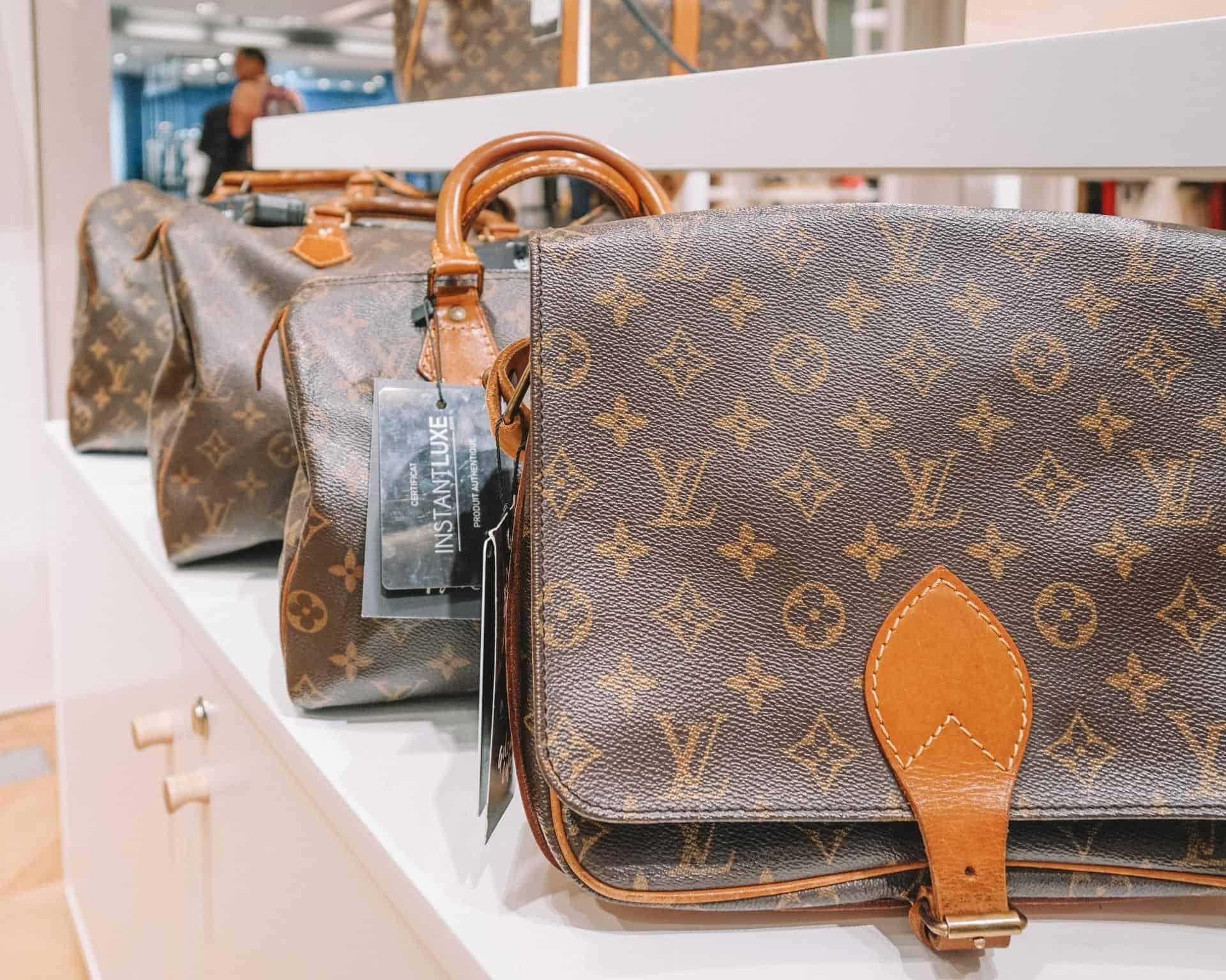buying designer bags in Paris at a discount