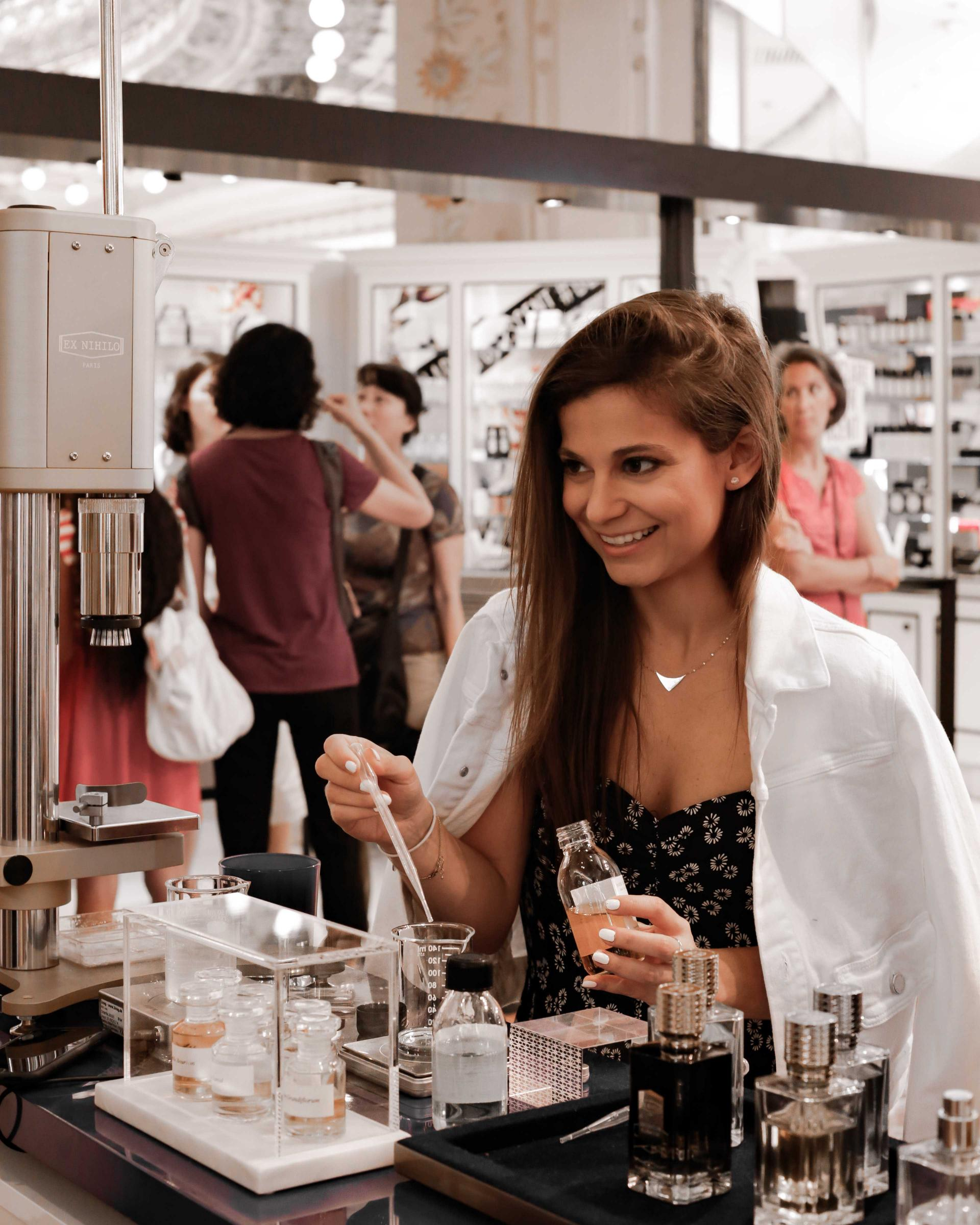 create your own perfume in paris