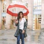 what to wear in paris when it rains