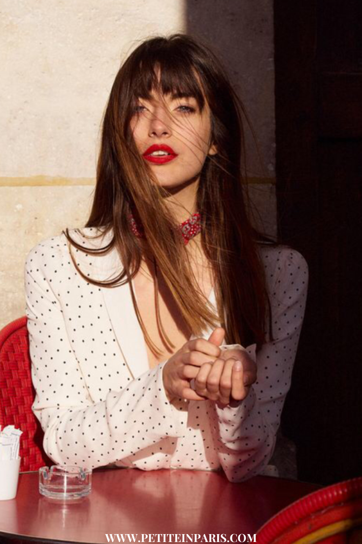 Parisian Red Lips