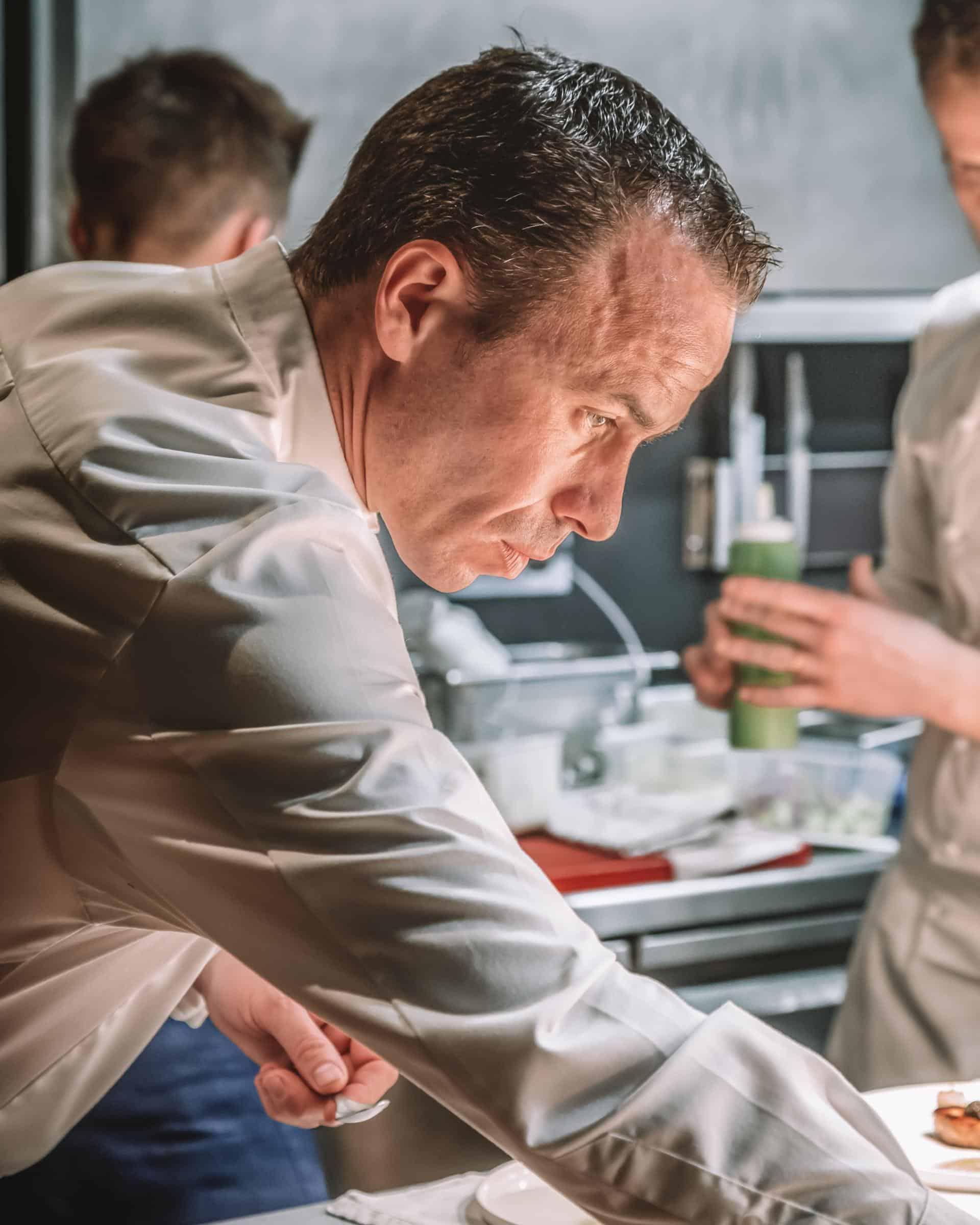 Christophe Hay 2 michelin stars cuisine