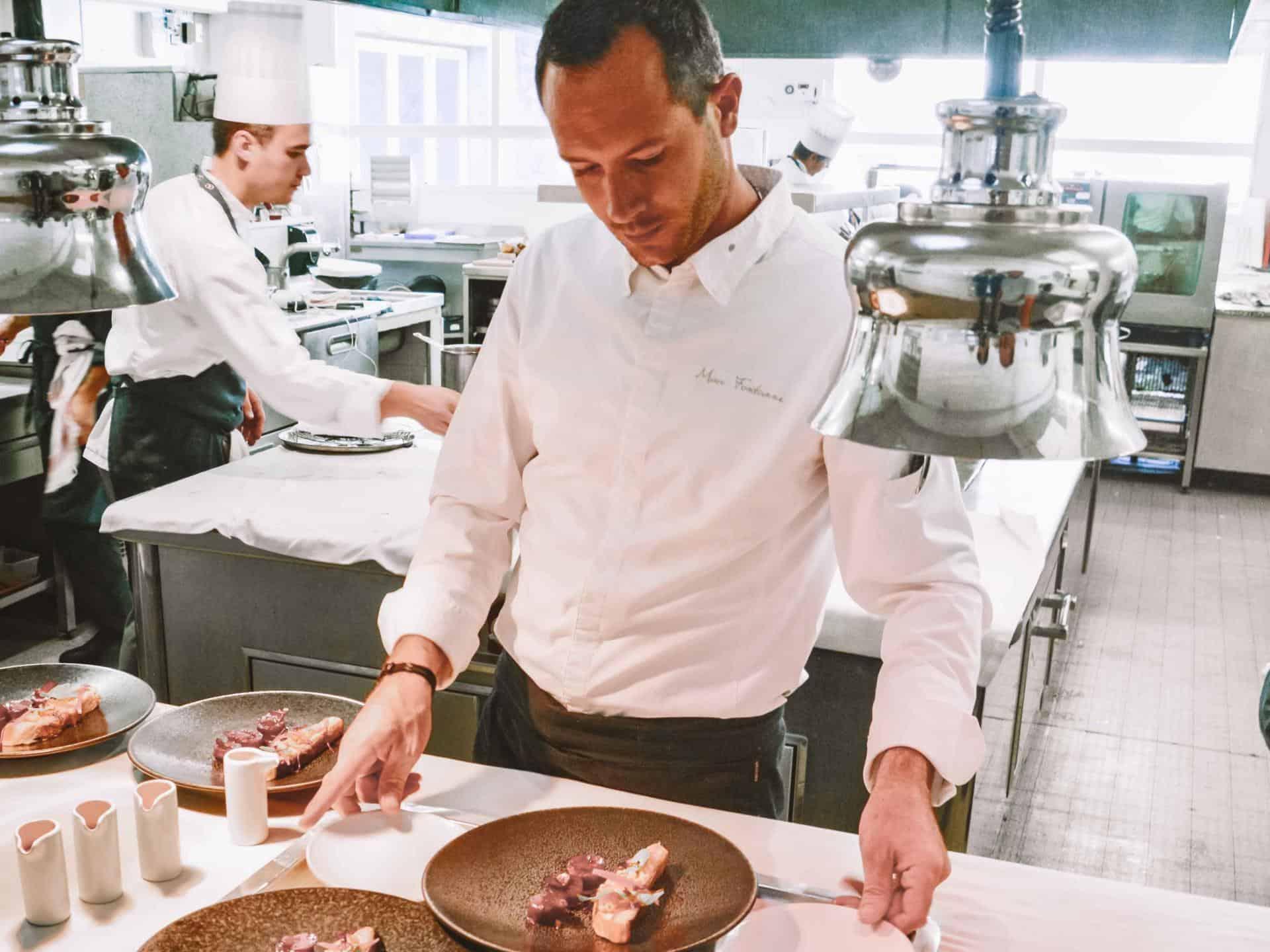 Marc Fontanne, the Michelin star Chef