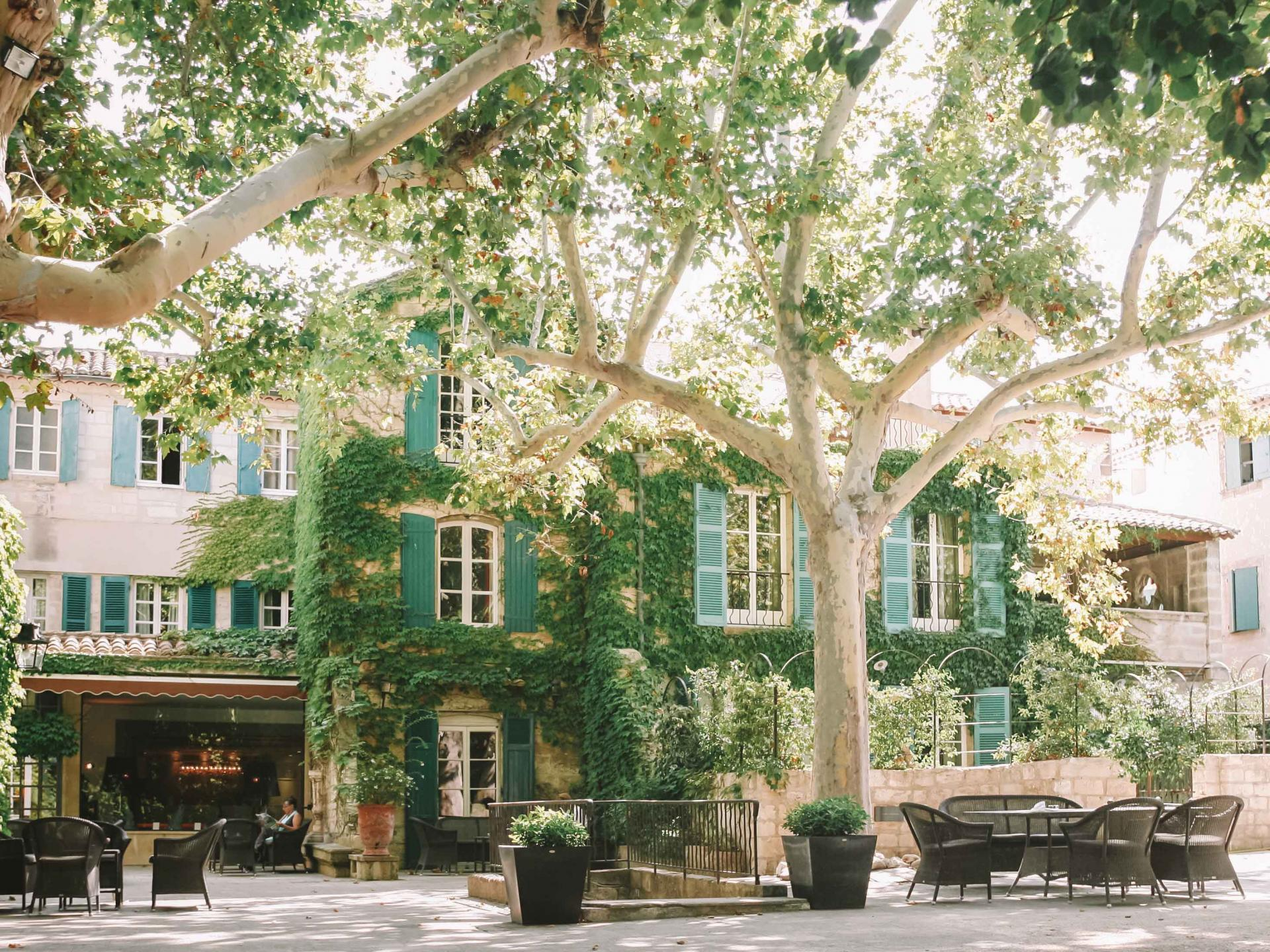 Le Prieuré, in Provence near Avignon