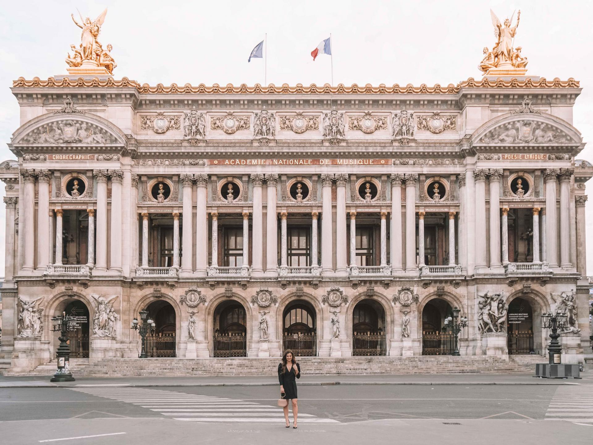 what to wear to the Paris Opera House