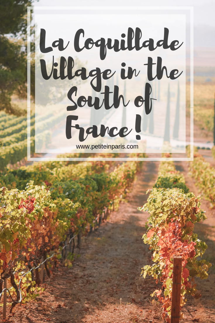 la coquillade village south of france pinterest