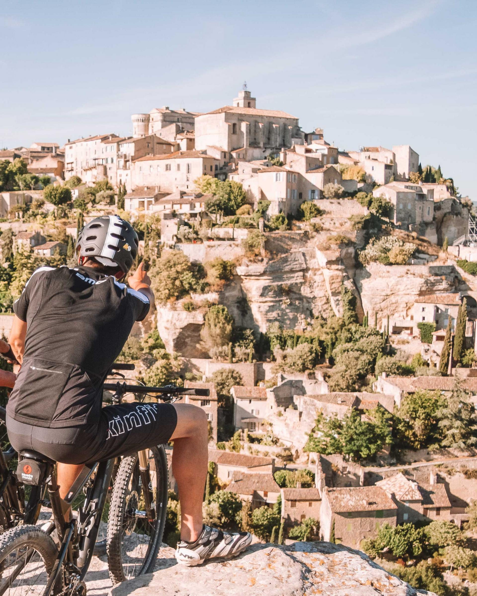 where to go cycling in the south of france