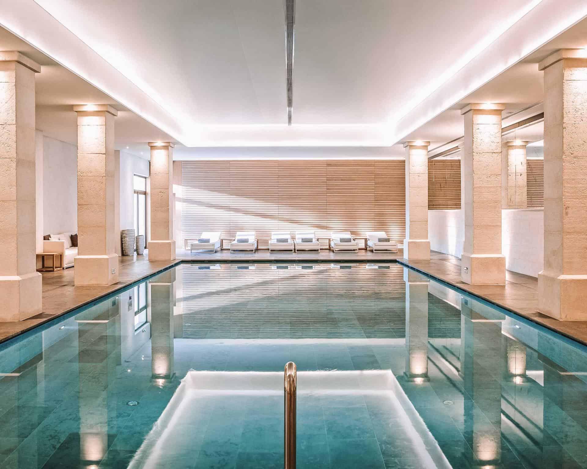 la coquillade village indoor pool