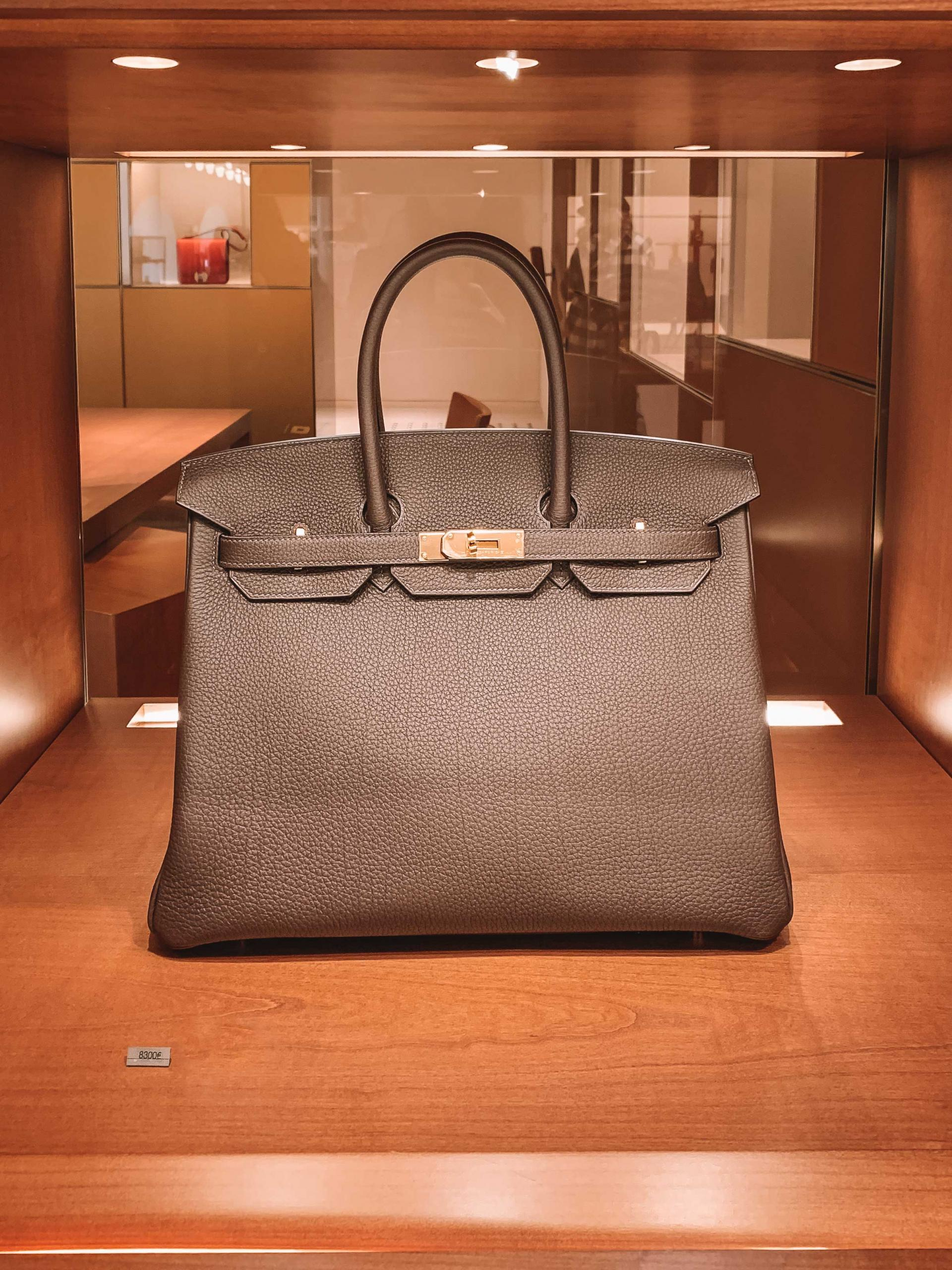 Birkin size 35 togo leather
