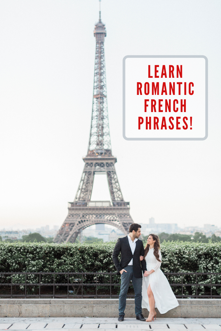 learn romantic french phrases