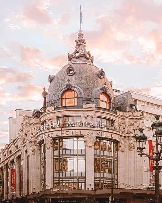 Department store in Paris
