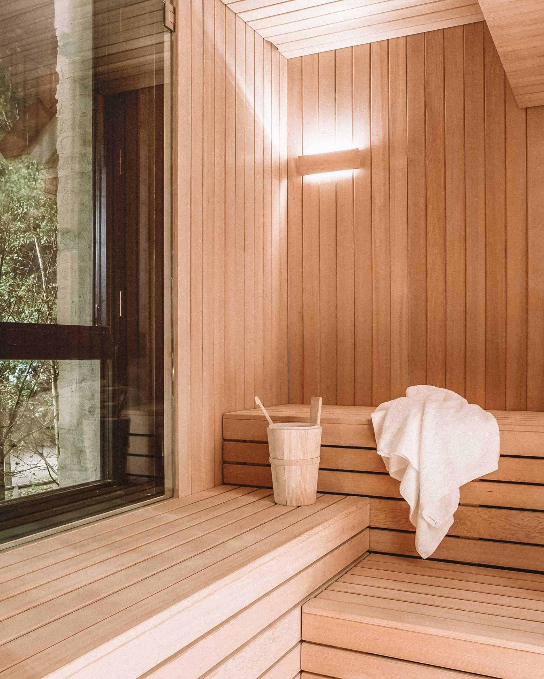 Louvre lens sauna