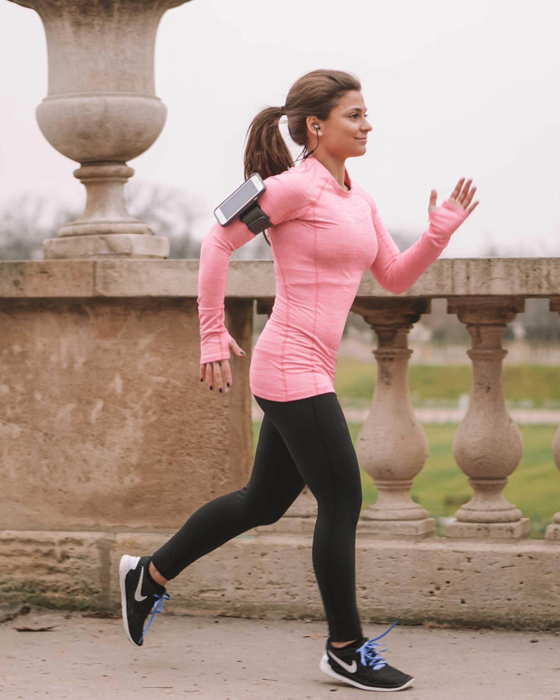 what to wear running in paris