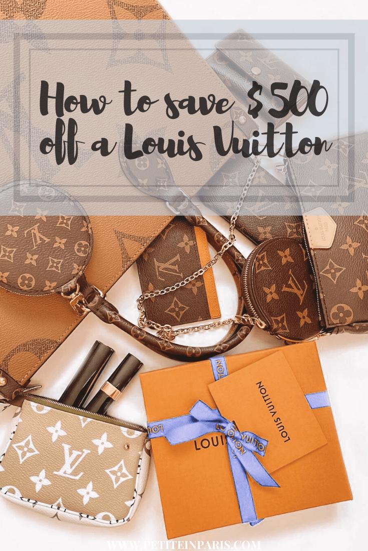 Louis Vuitton bag cheaper in paris
