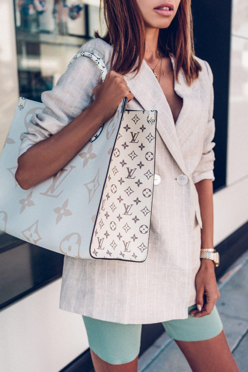 Louis Vuitton white bag