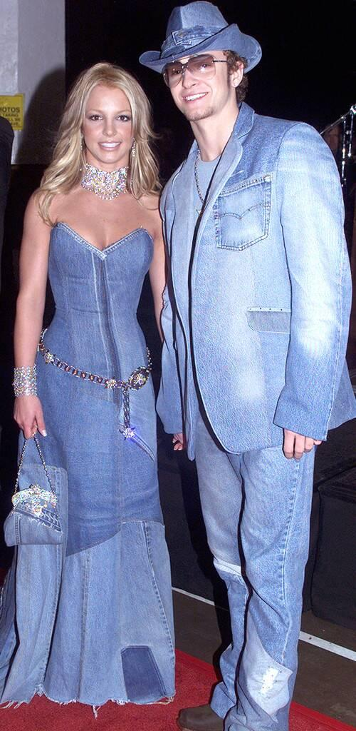 justin timberlake and britney spears jean jacket