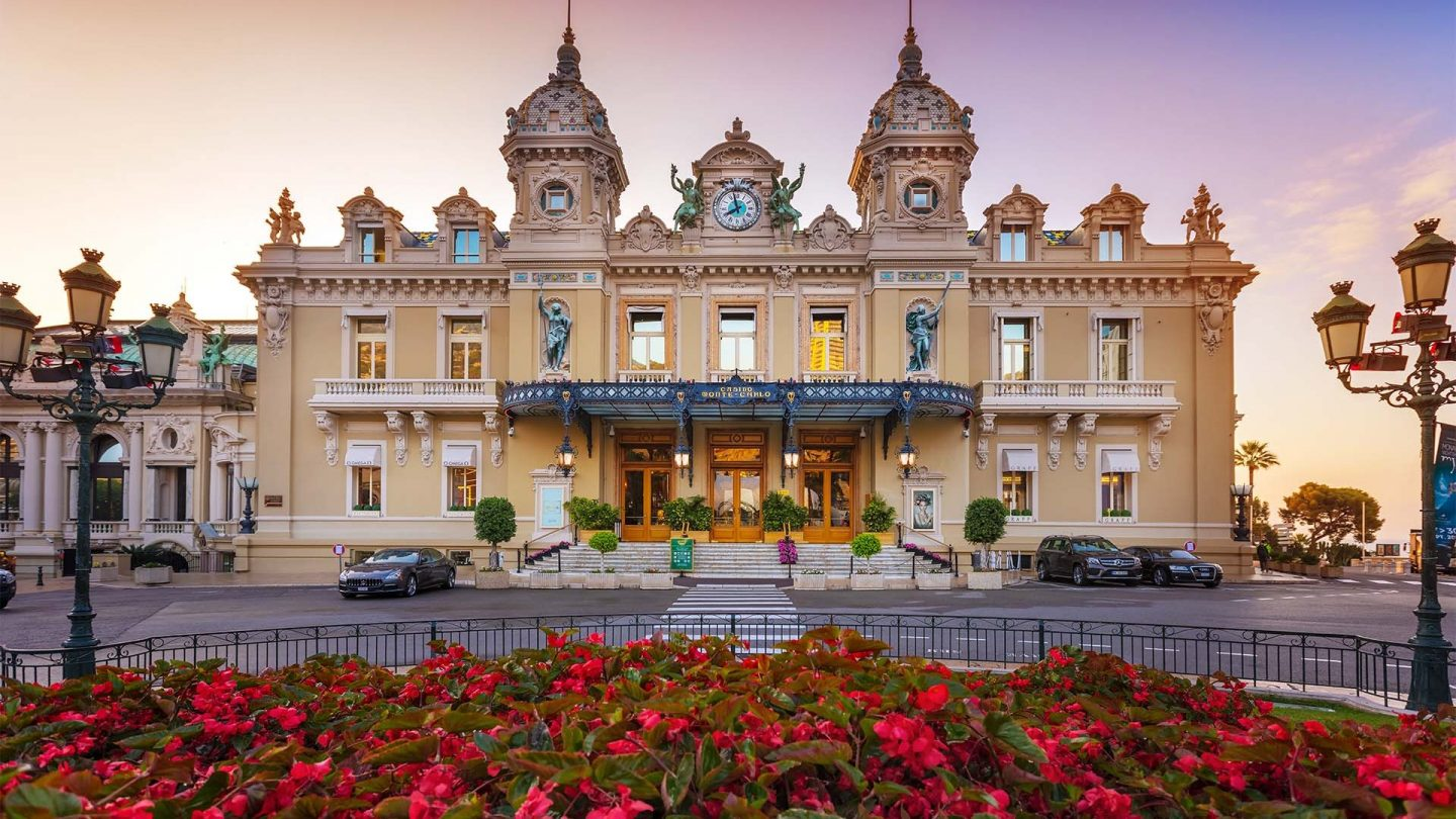 outside the monte carlo casino in monaco