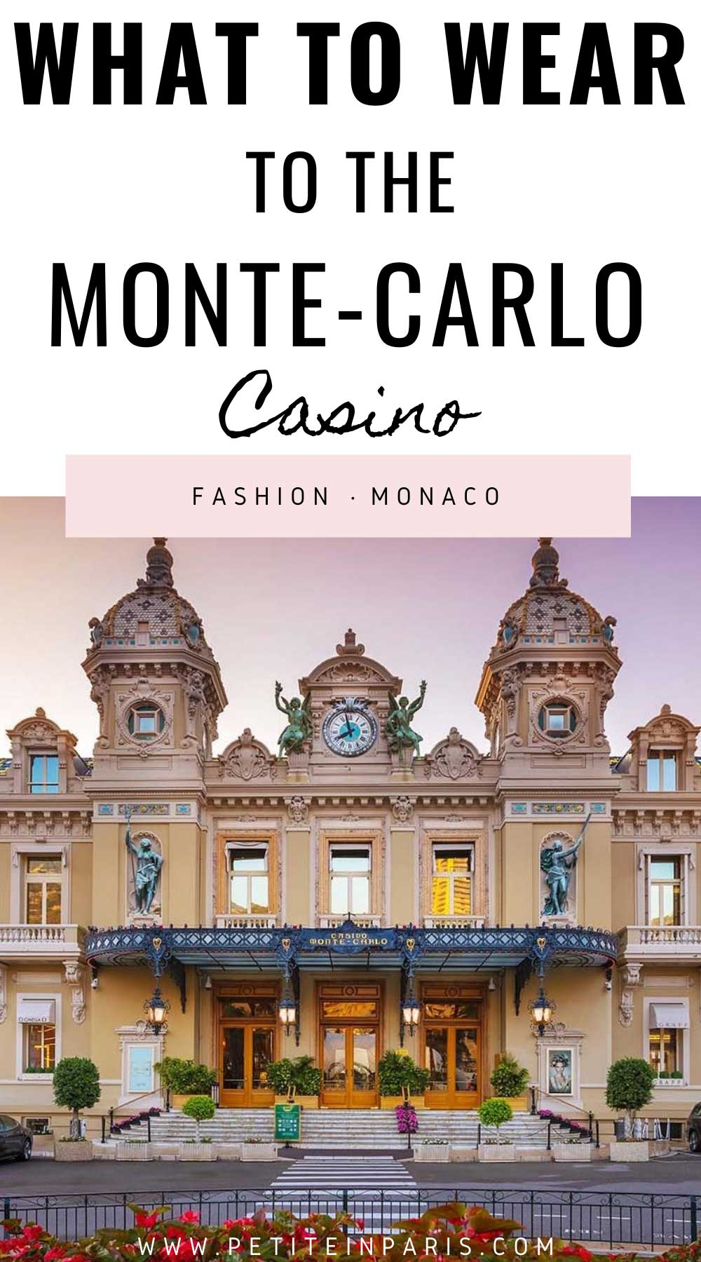 what to wear to the casino in monaco