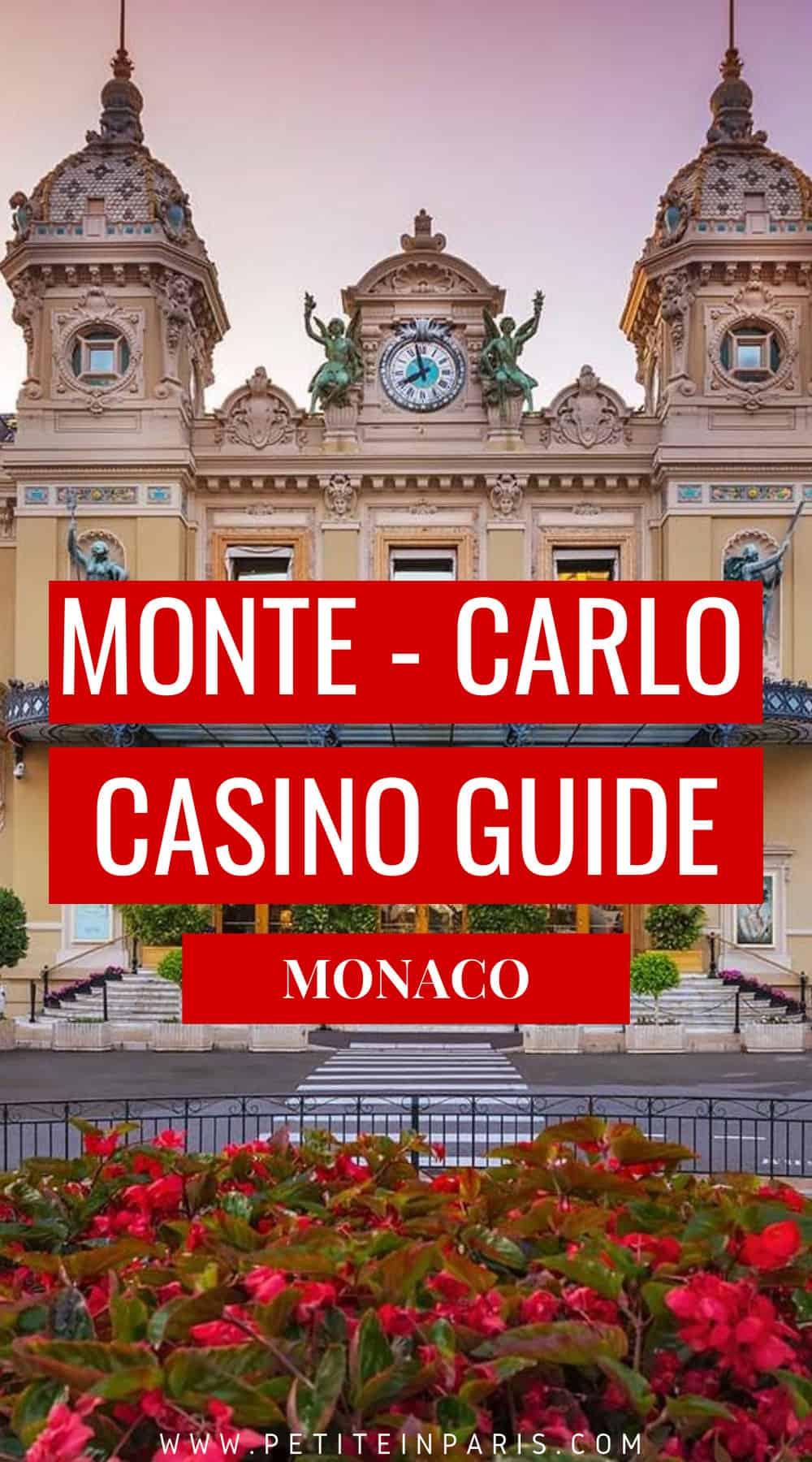 Monte carlo casino guide
