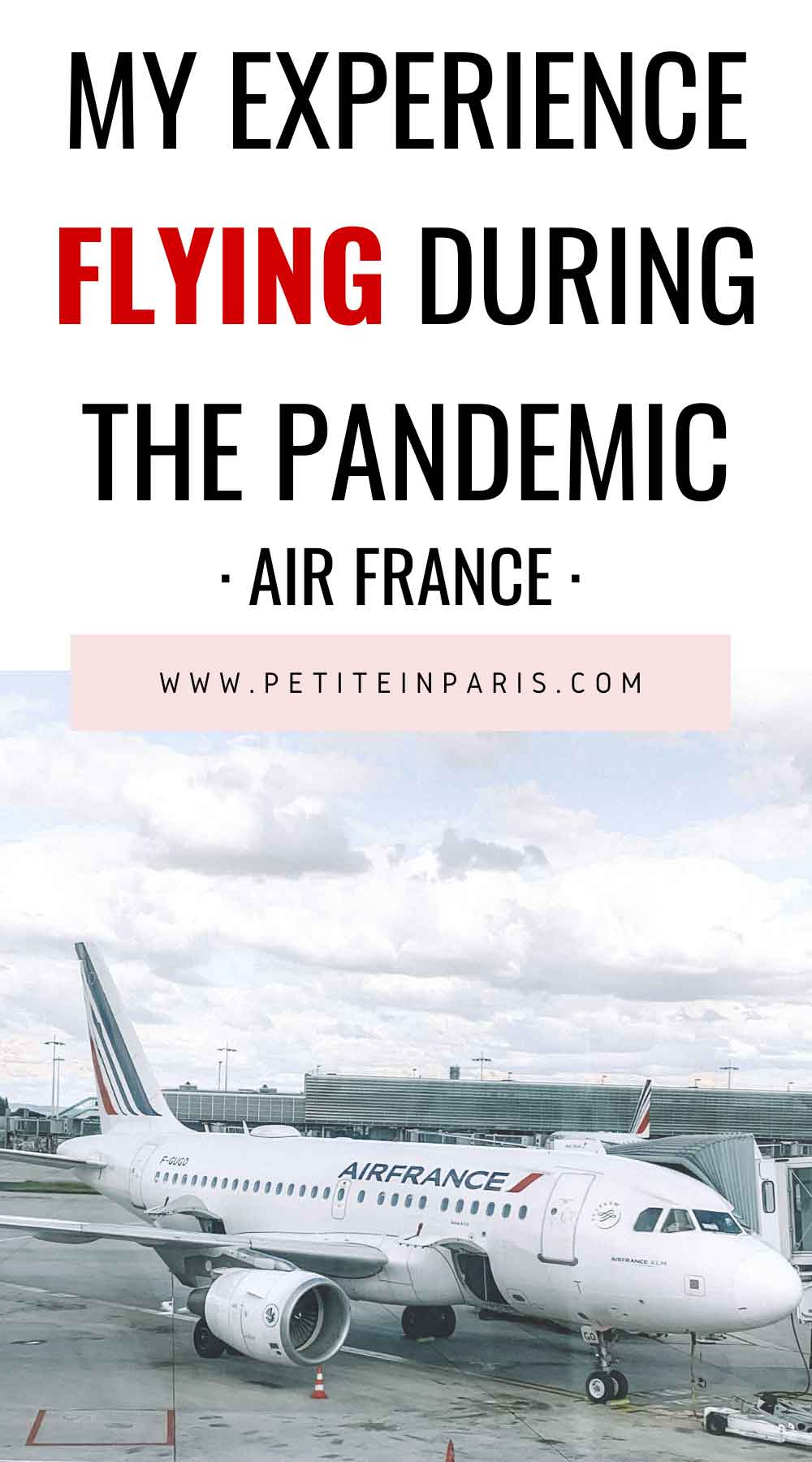 flying on airfrance during pandemic