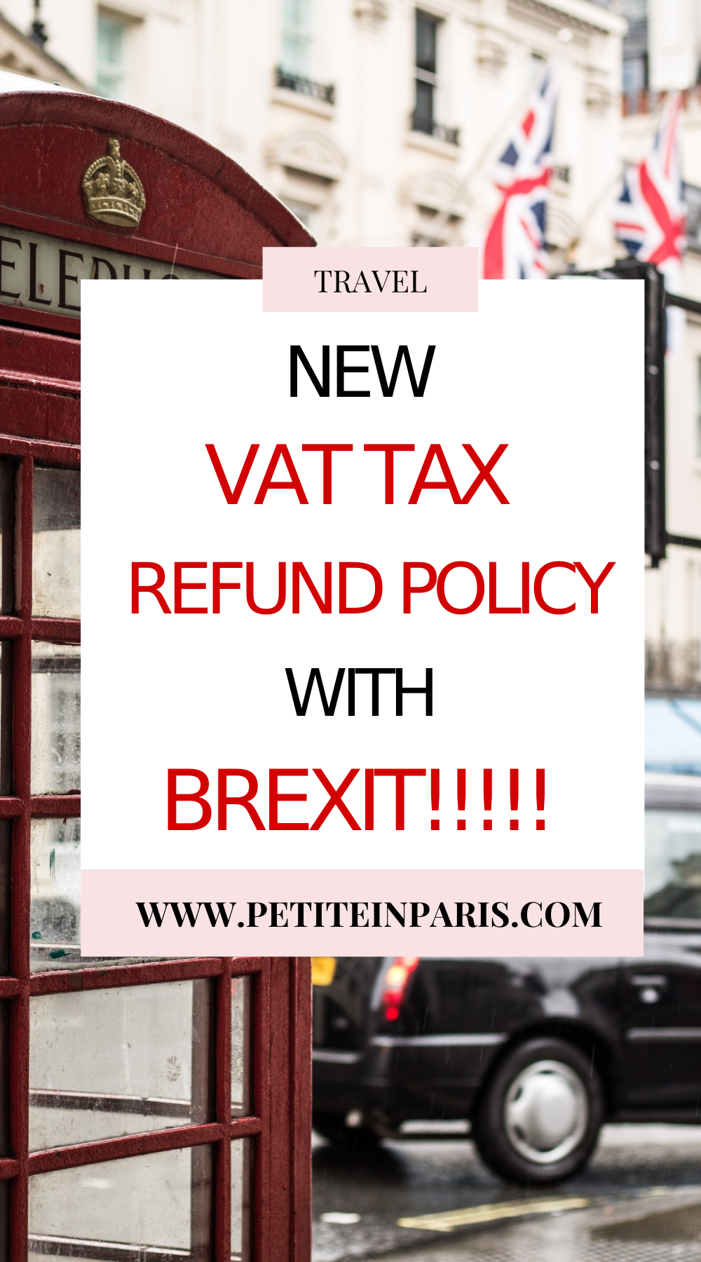 new vat tax policy in the UK