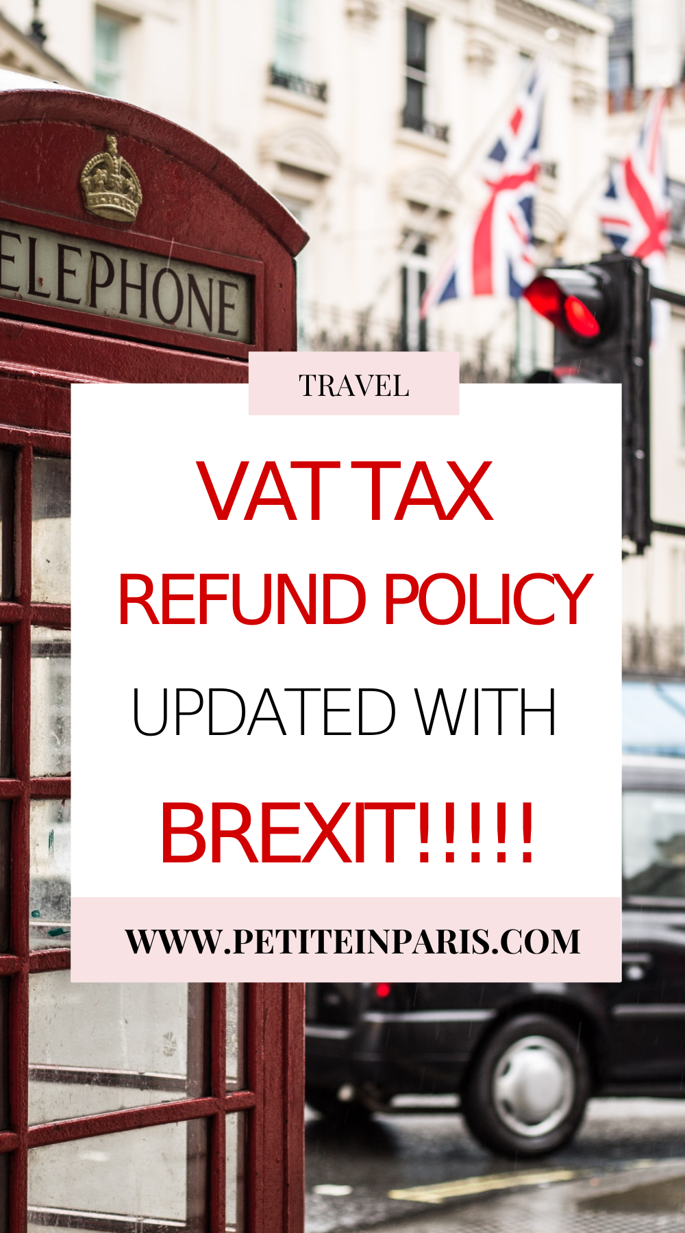 VAT tax refund in the uk