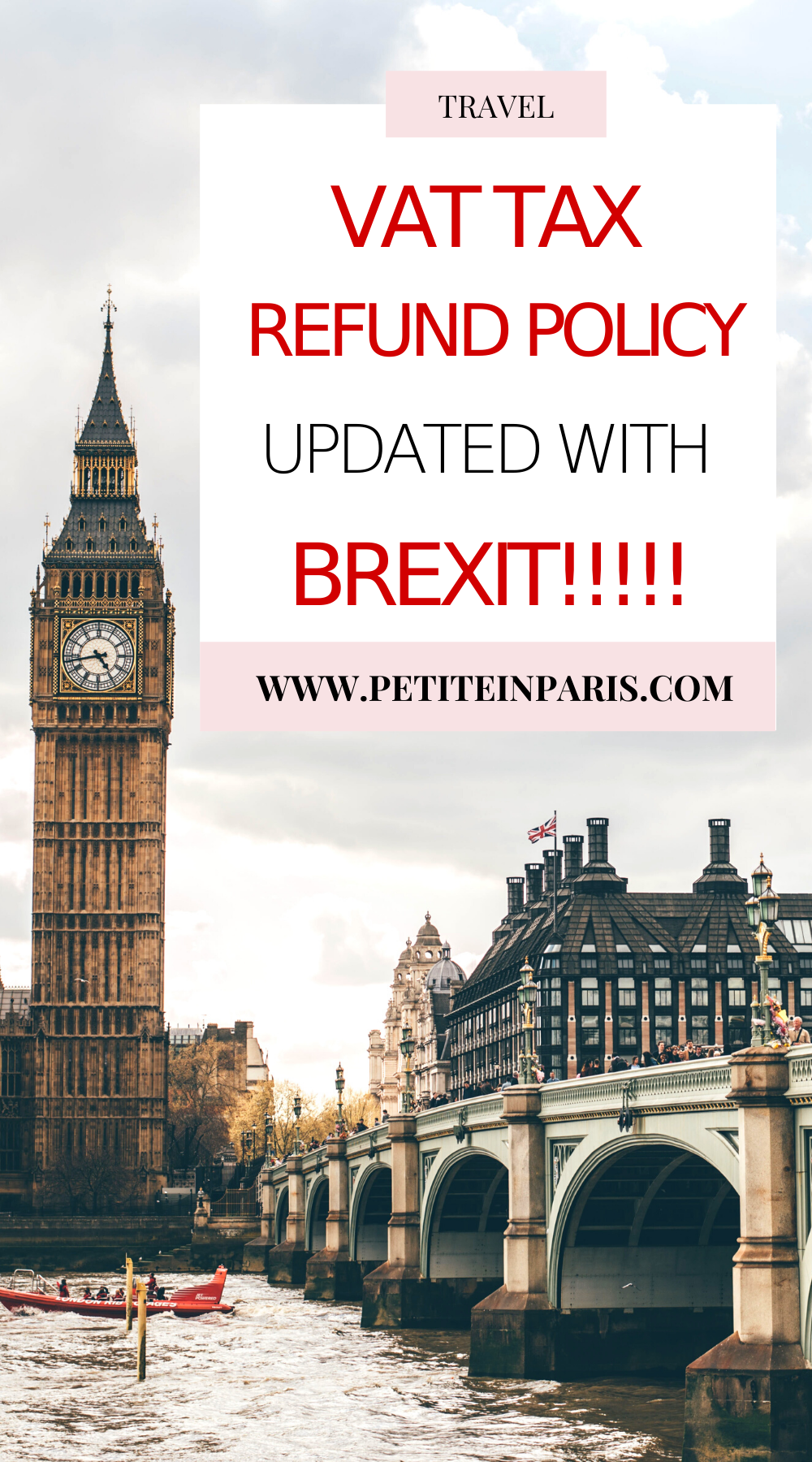 new VAT refund policy in the UK