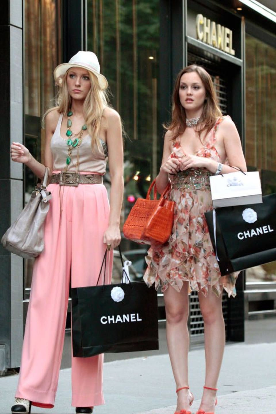 gossip girl shopping at chanel