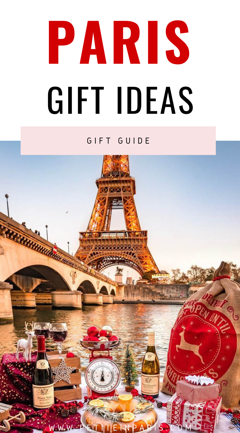 Paris themed gift ideas
