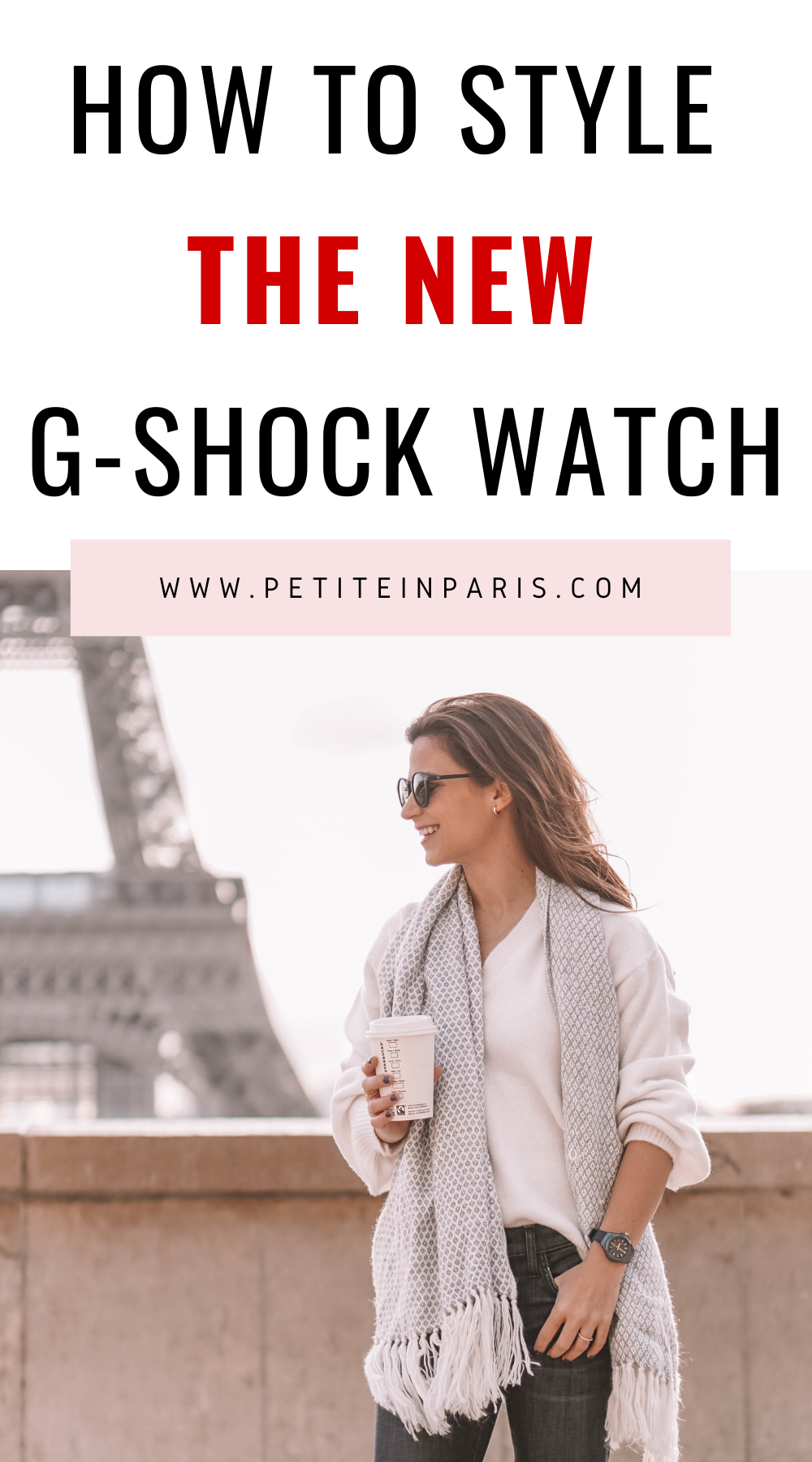 how to style the new gshock watch